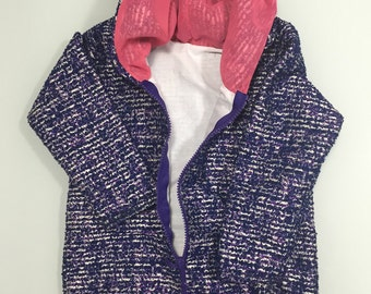 Sweatshirt/jacket girl size 2/3 years