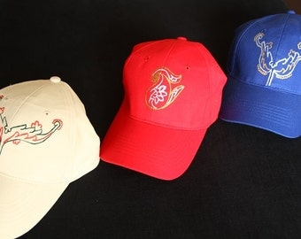 Hand painted baseball cap