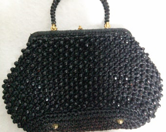 Vintage Beaded Purse Made in Italy