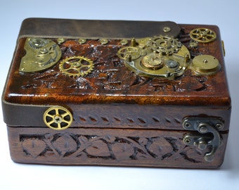 Box, jeweler Steampunk