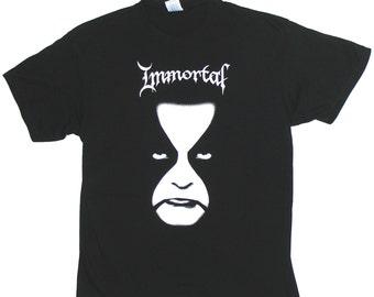 IMMORTAL T-SHIRT Face