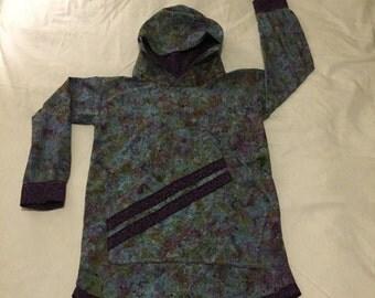 Medium: Purple batik Kuspuk