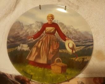 Sound of music commemorative plate.