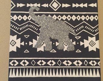 Tribal Elephant painting