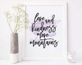Love & Kindness Printable