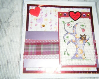 Handmade Crossstitched Cards
