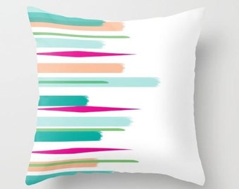 Spring Fling Abstsract Pillow
