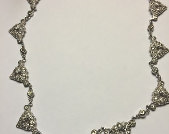 Costume Jewelry 1940s Necklace