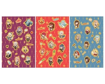 Fire Emblem Fates Sticker Sheets