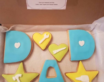 7 fathers day biscuits/cookies