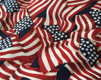 """FabriQuilt, """"STARS AND STRIPES"""", Flags"""