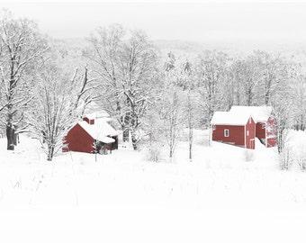 Winter Sugarhouse and Barns