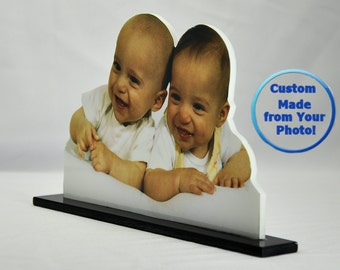5X7 Custom Photo Sculpture Classic Cutouts from your Photo on Plexiglas