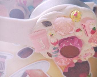 Custom Kawaii Sweet Decoden Headphones