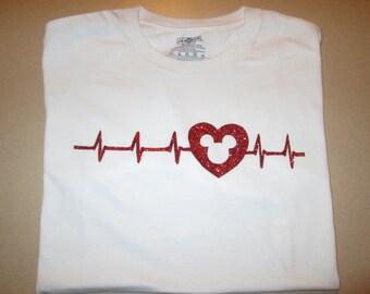 One-of-a-Kind Disney Heartbeat Shirts