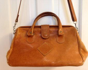 Vintage Katherine Ward Satchel Handbag 1970