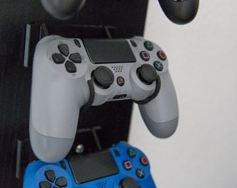 Playstation 4 PS4 Controller Wall Mount (also works for PS3 and PS2)