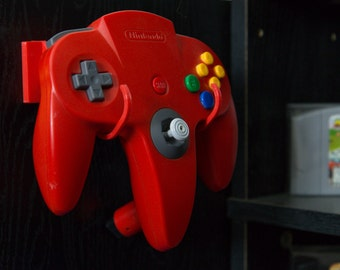 Nintendo N64 Controller Wall Mount (also works for Gamecube)