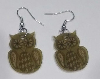 Argyle Owl - Olive