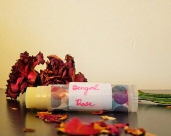 Organic Lip Balm - Bengal Rose