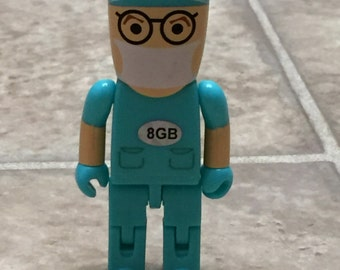Doctor Shaped USB Flash Drive 8 MB