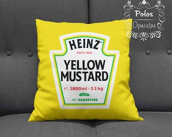 Yellow Mustard - Cushion - Pillow