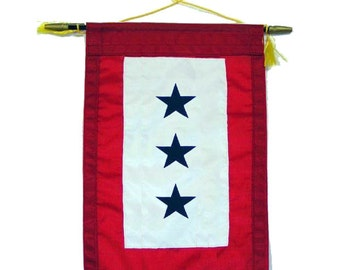 Blue Star Service Banner (3 Star)