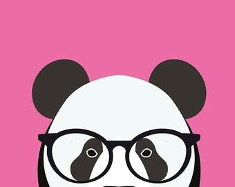 Bright Panda - Wall Art