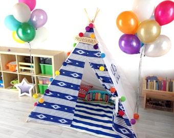 """Tepee/wigwam for children """"Blue eskimo"""""""