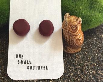 Marooned Owl earrings