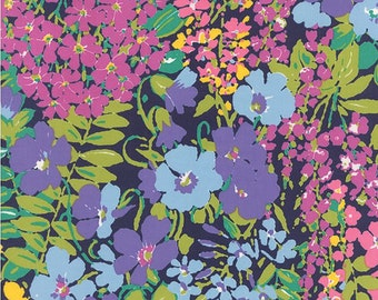SALE Fabric - Moda Fabric - Regent Street by Sentimental Studios - 33080 - Navy - Cotton fabric by the yard (last yard)