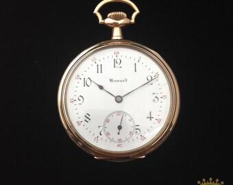 Rare Howard Pocket Watch c.1909-1912