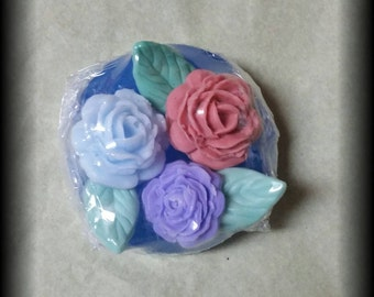 Rose garden glycerine soap
