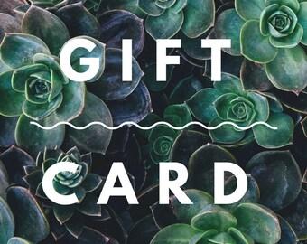 Pin + Needle Gift Card