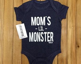 Mom's Lil Monster Onesie