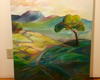Northern California Hills / Original Art