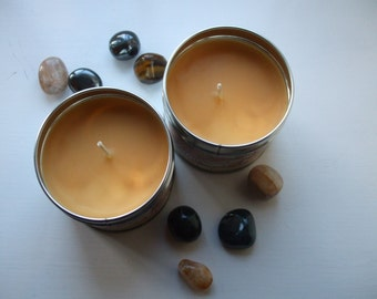 Habit Healer Scented Crystal Candle - Sweet Orange, Clove, Black Pepper & Citrine
