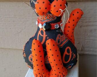 Baltimore Orioles Baseball Cat