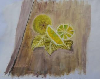 Still Life - Lemons - Oil Painting