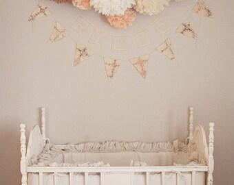 pompones 14, decoración del partido, boda, eventos, babyshower, pompones de papel, fiesta, decoración de papel, florecen pompón