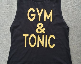 Gym & Tonic Workout Tank