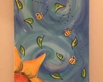 Three Bee in Autumn (painting)