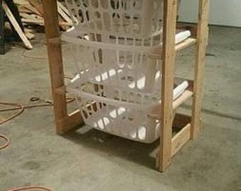 Laundry Basket Cupboard