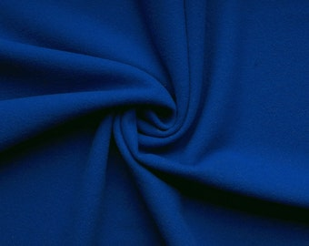Gaby wool - color: Royal Blue - Cashmere - Wool - Mittelalter - 0.5 m