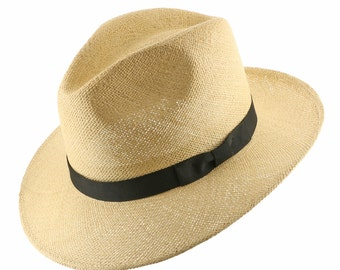 FEDORA PACKABLE FOLDABLE Panama Straw Hat Classic