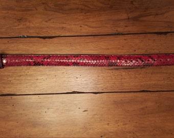 Python Dog Collar