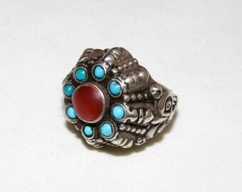 Antique uzbek ring
