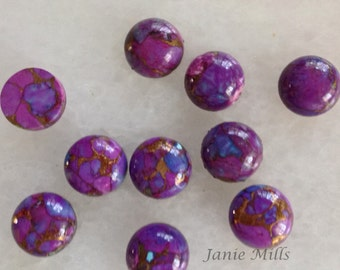 Mojave Purple Turquoise 12mm Cabochon