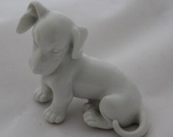 Augarten Dachshund Dog Figurine by Arthur Möeller