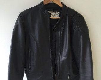 80's 90s Biker Jacket